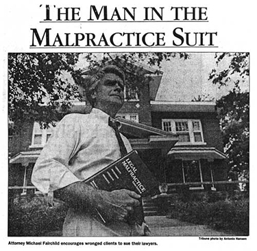 Man in the Malpractice Suit